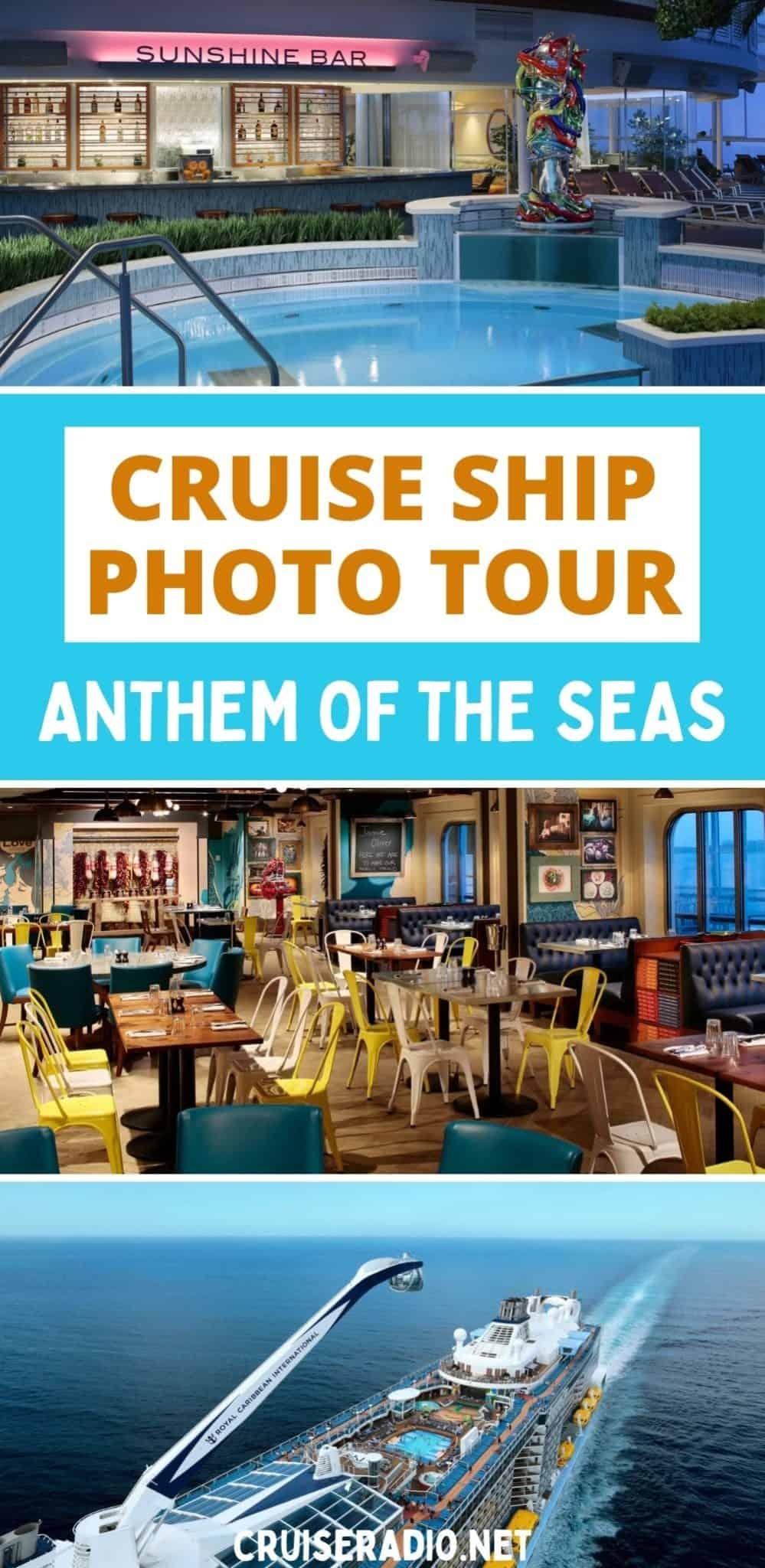 cruise ship photo tour anthem of the seas