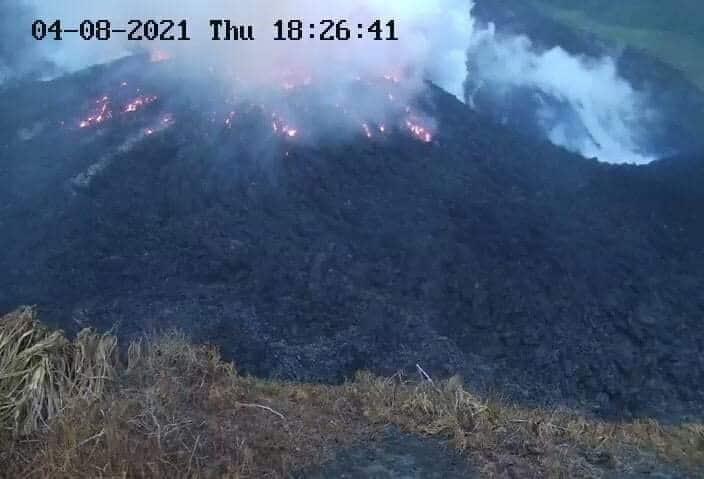 volcano st. vincent eruption