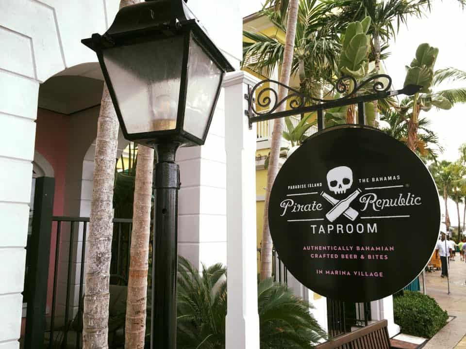 pirate republic brewing co bahamas