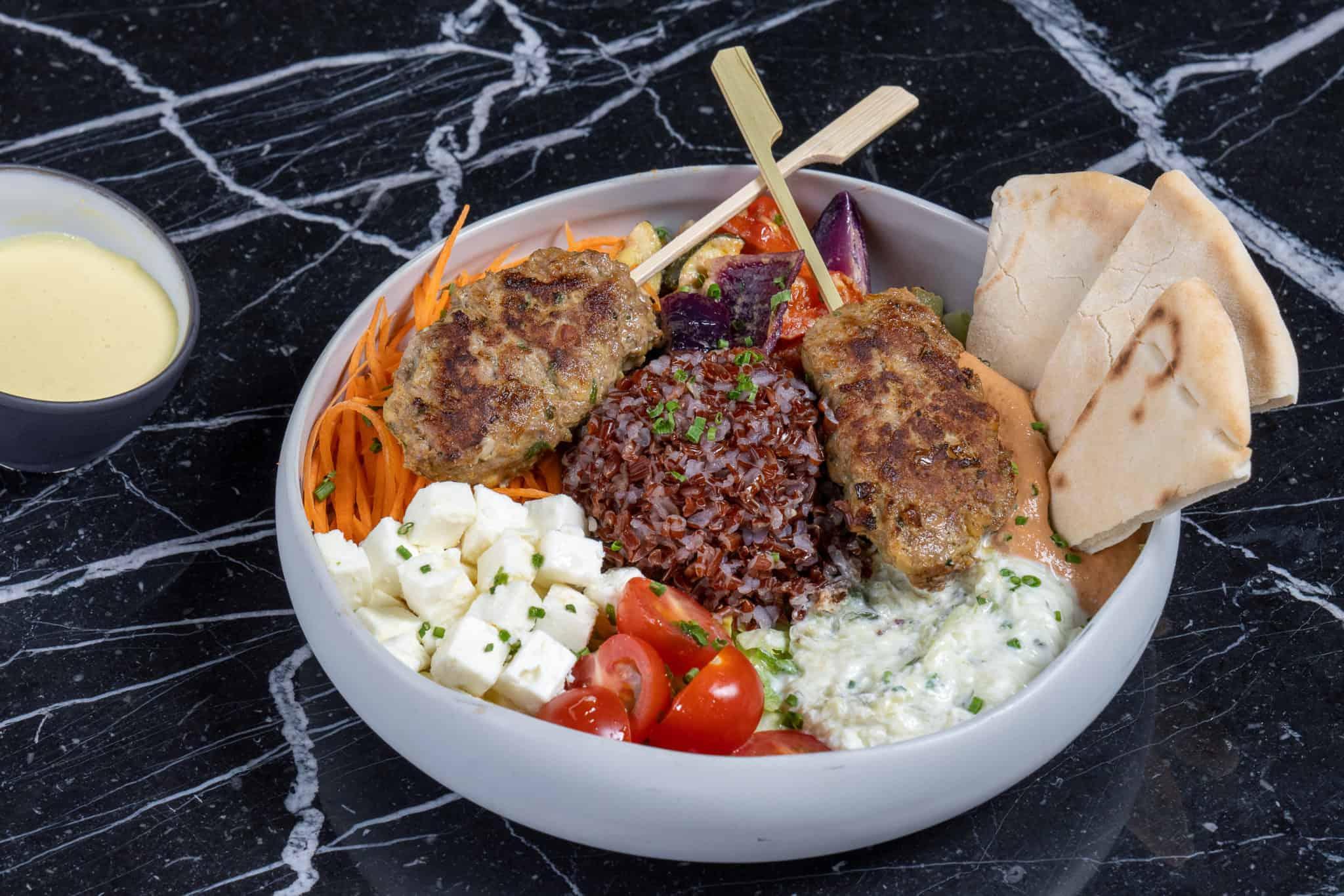 mediterranean food bowl oceania