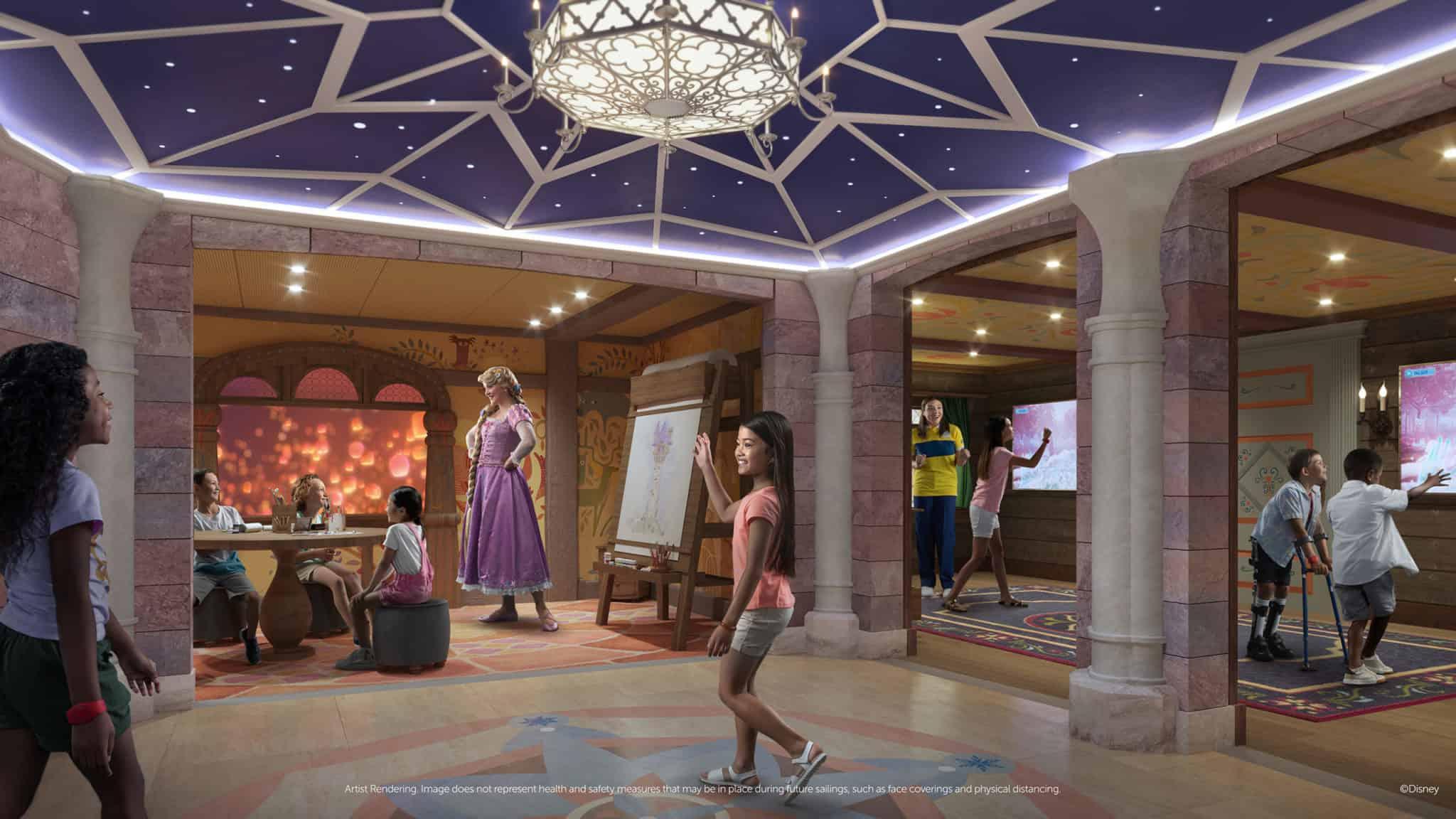disney wish oceaneer club fairytale hall