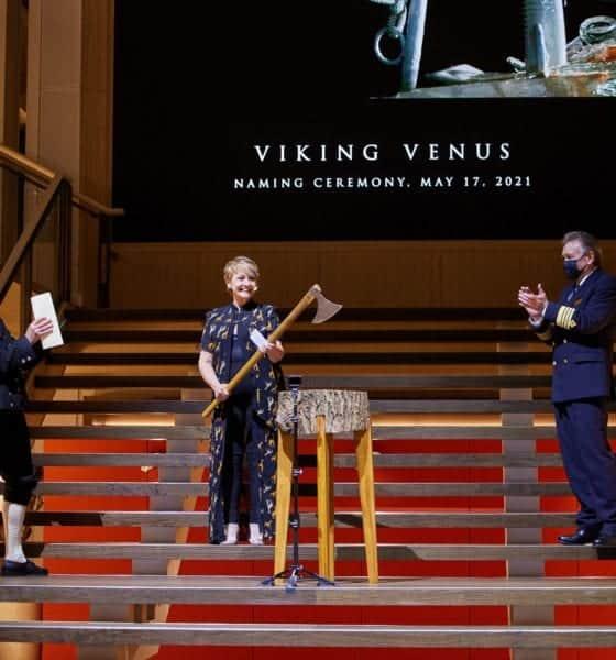 viking venus naming ceremony anne diamond