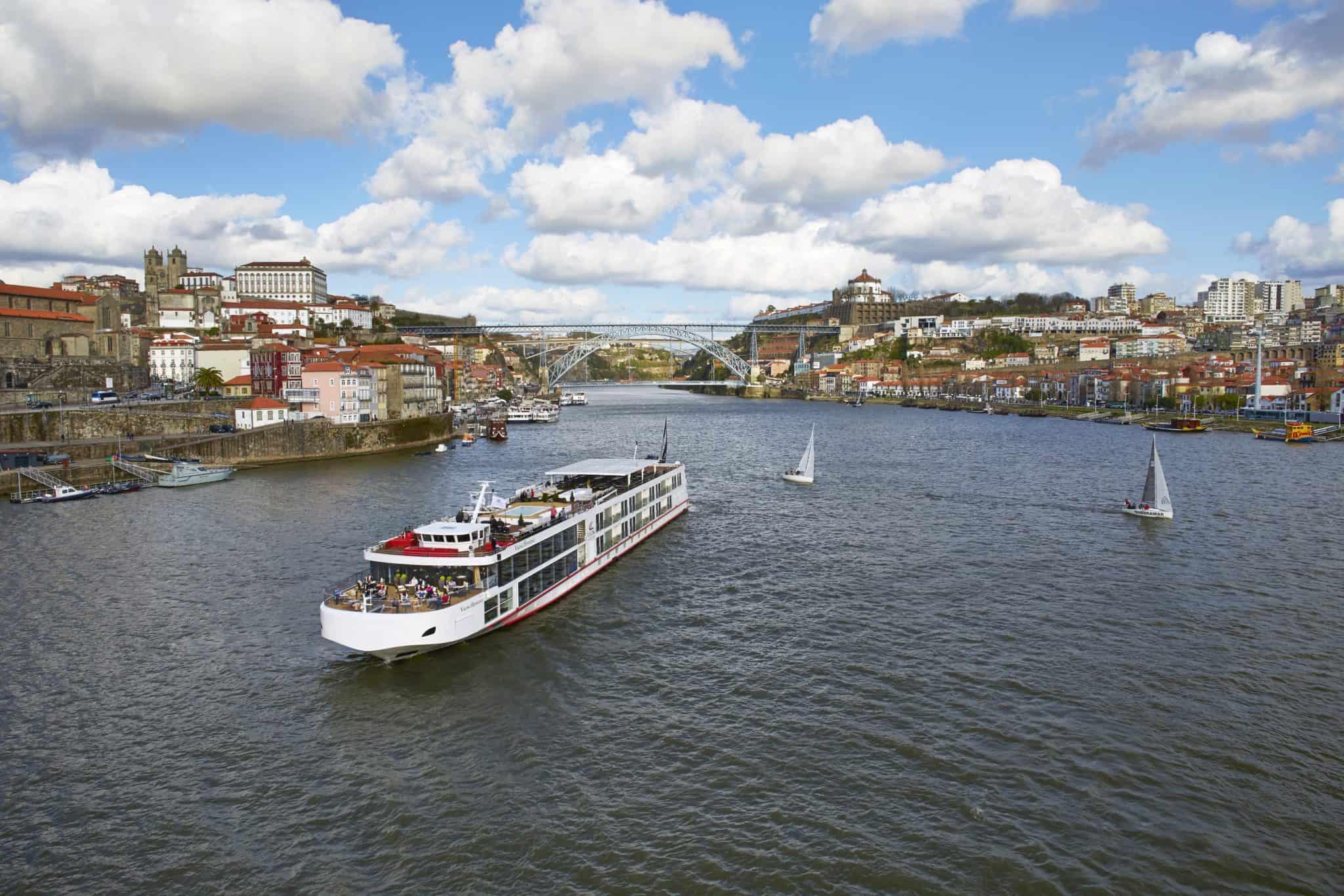 viking river ship porto portugal