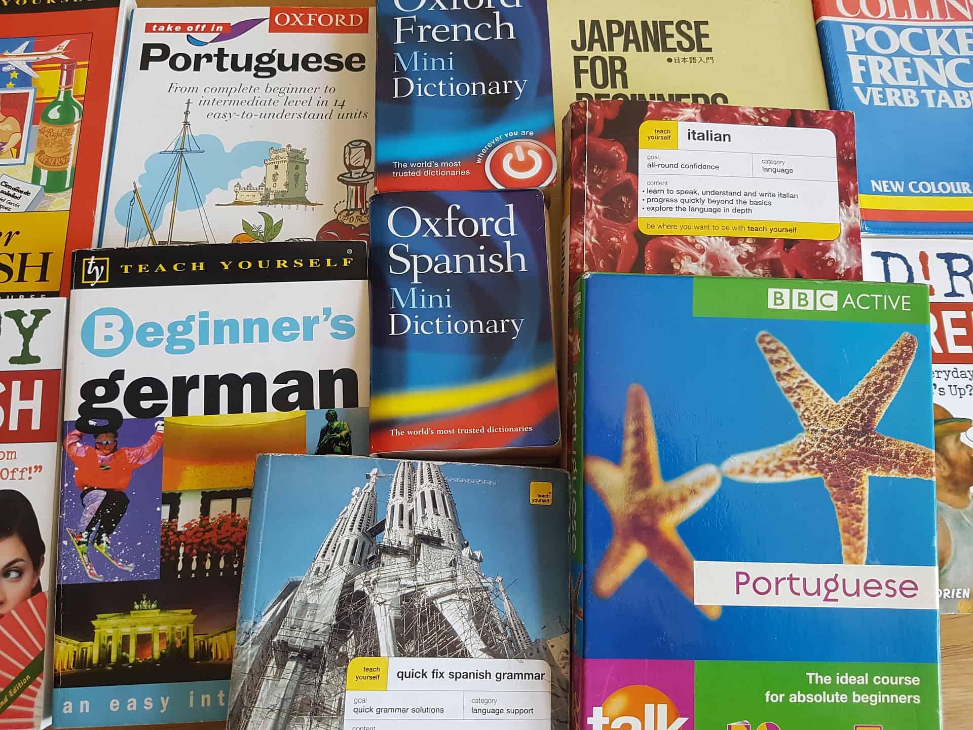 foreign language books pixabay