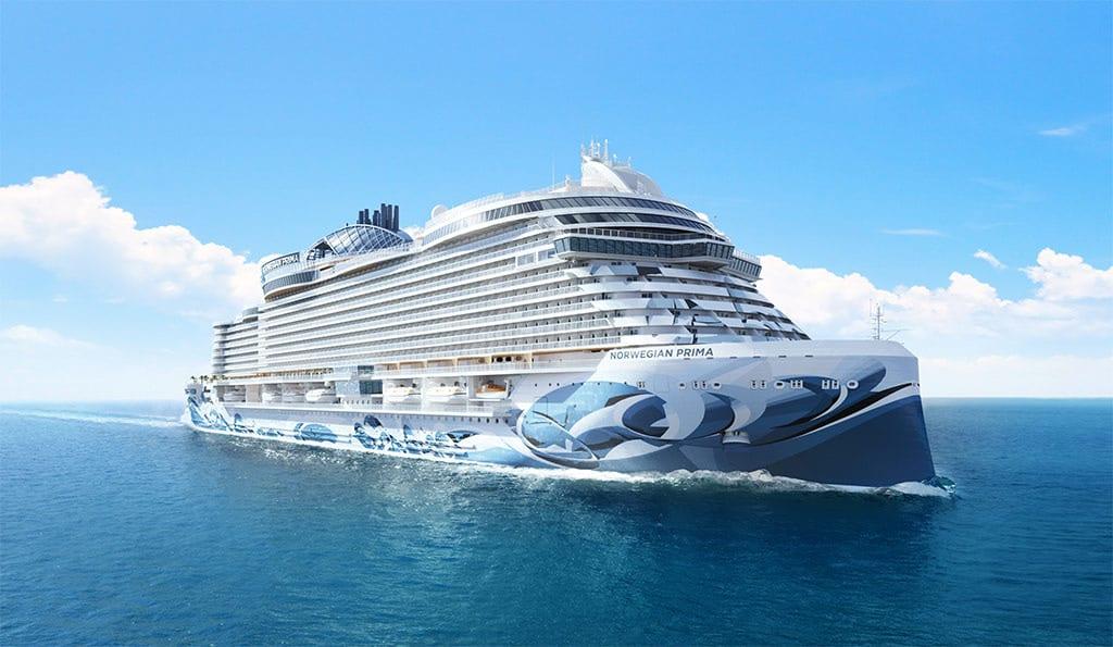 norwegian prima ship rendering
