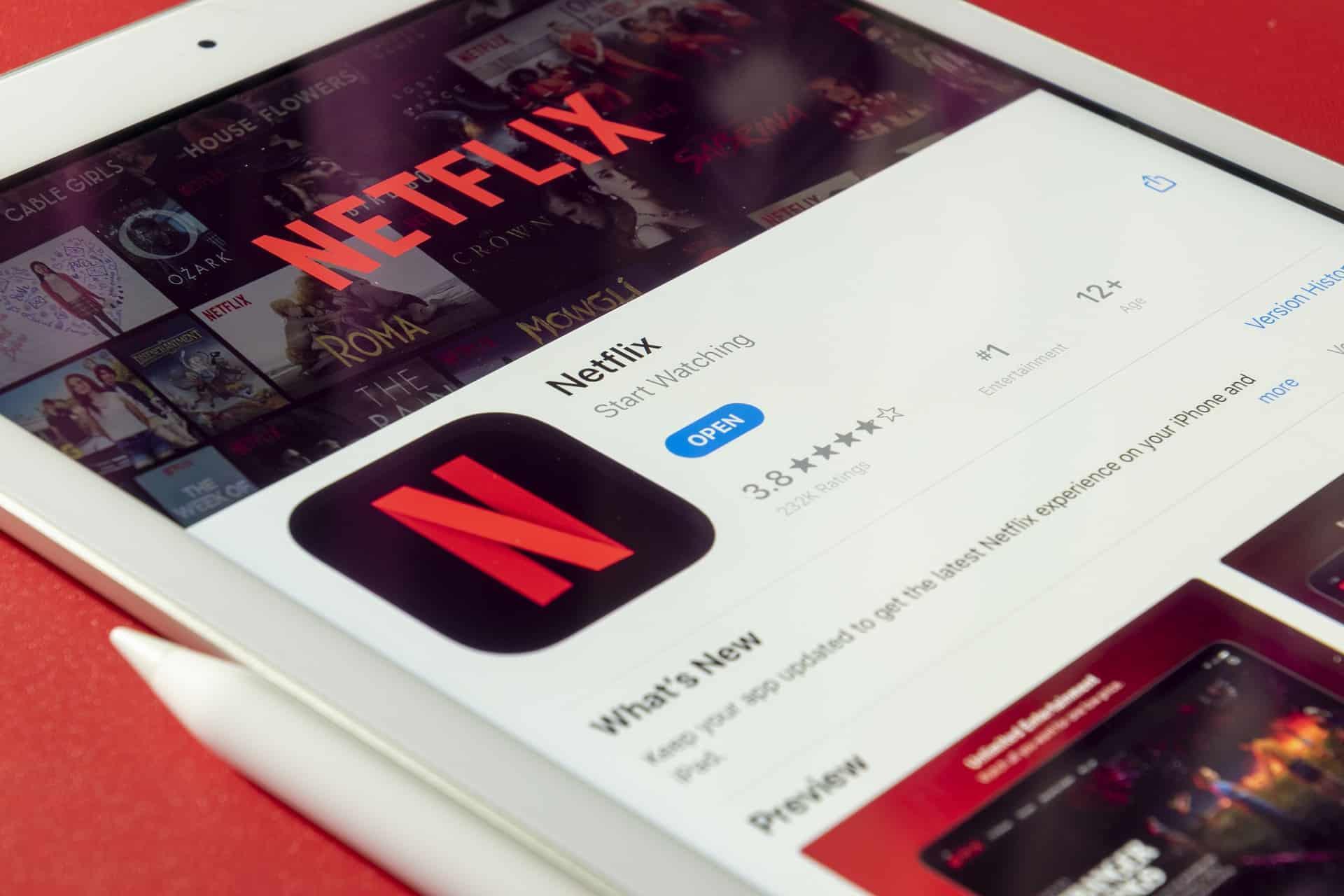 netflix streaming service pixabay iPad
