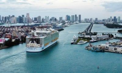 PortMiami miami florida symphony of the seas