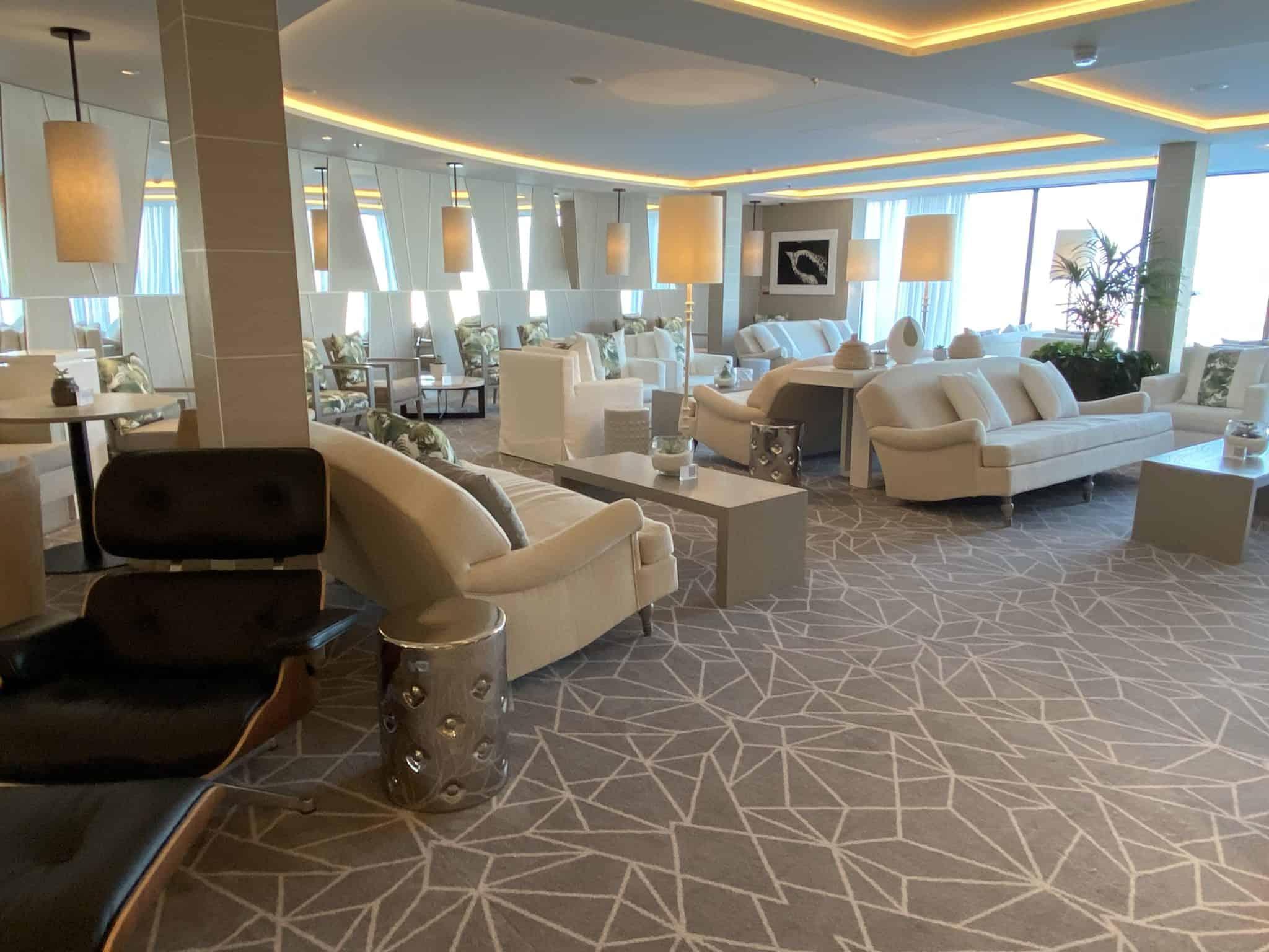 celebrity apex retreat lounge