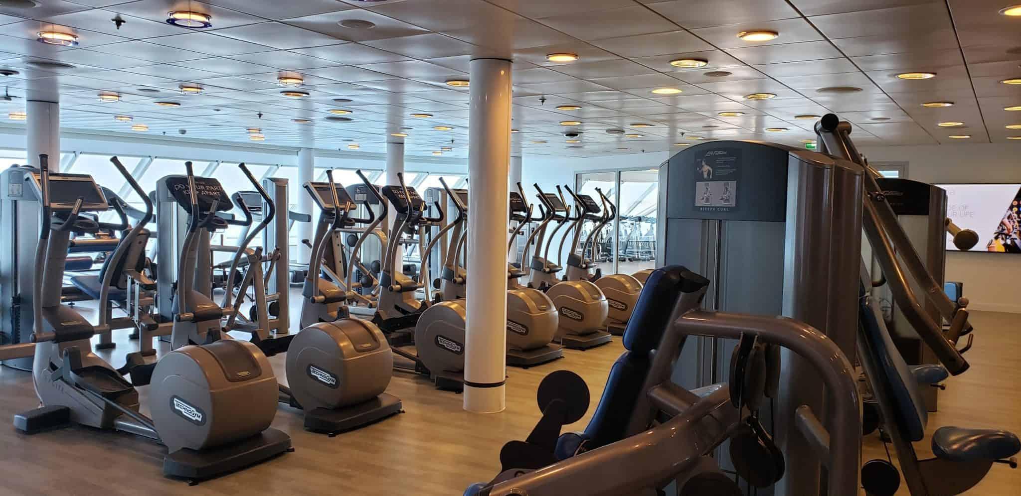 celebrity millennium fitness center