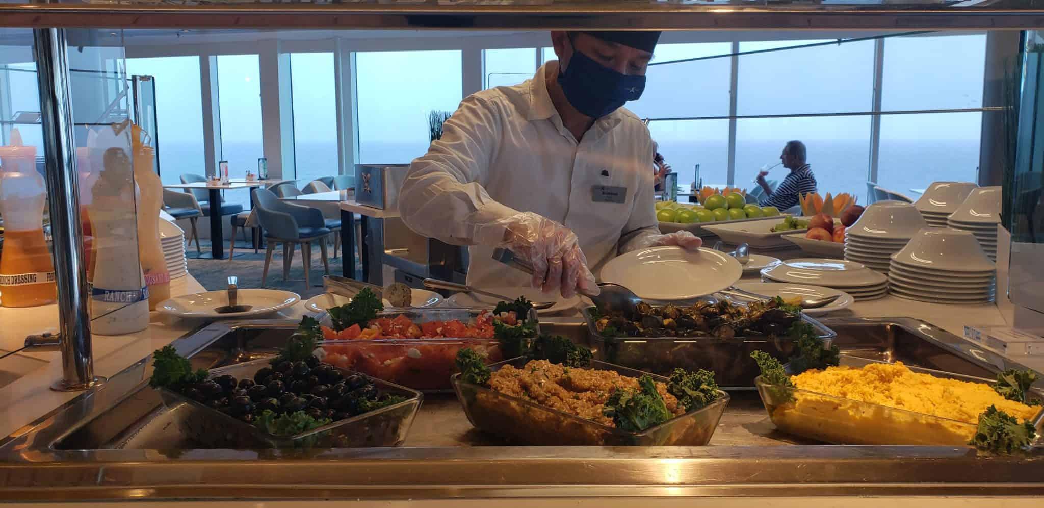 oceanview cafe buffet celebrity millennium