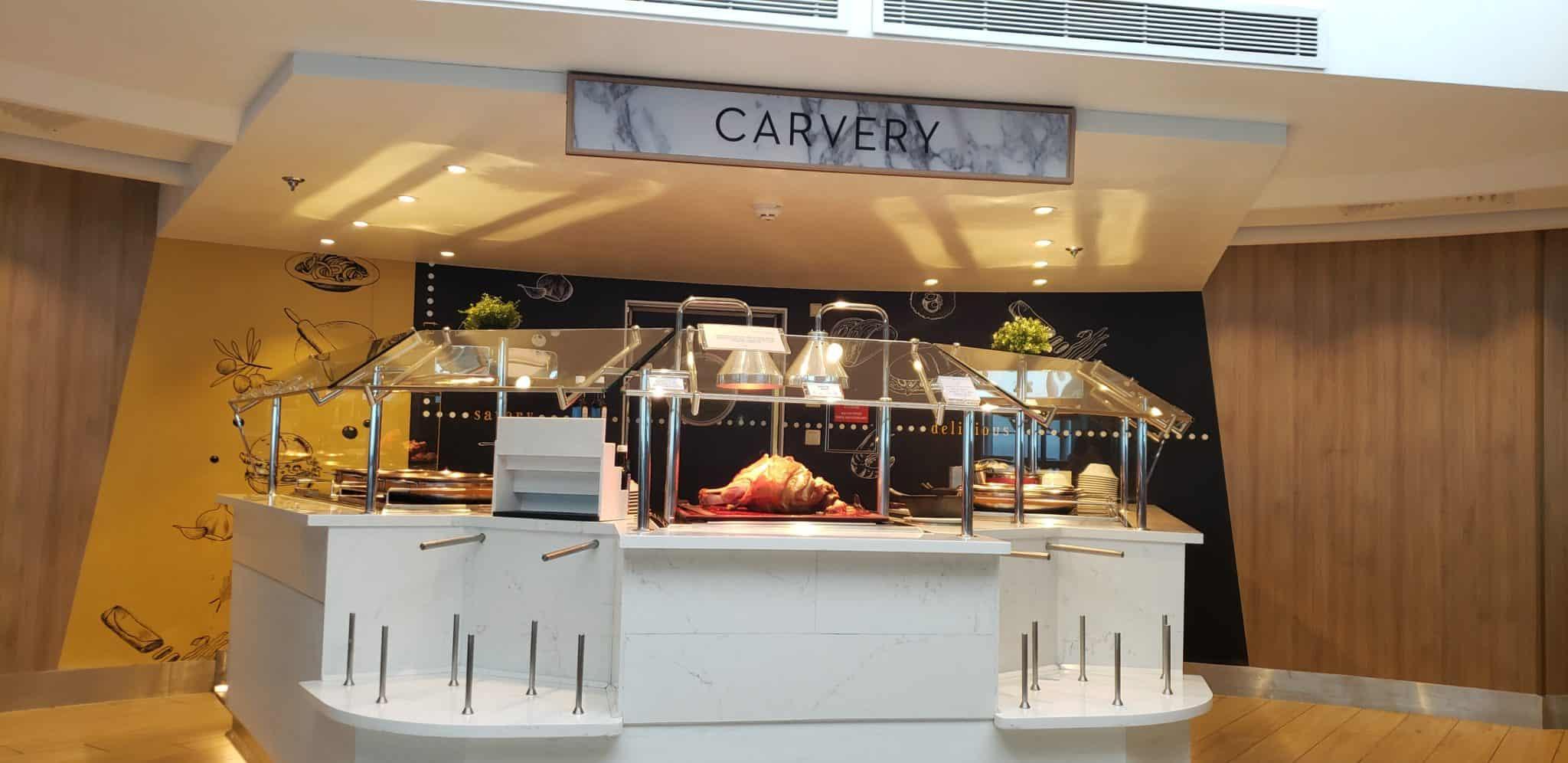 carving station oceanview cafe buffet celebrity millennium
