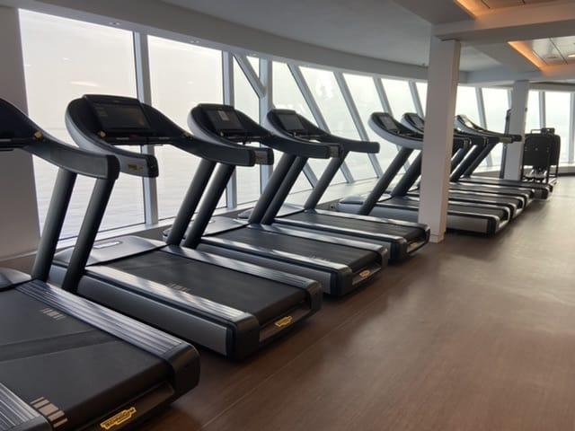 fitness center celebrity apex cruise