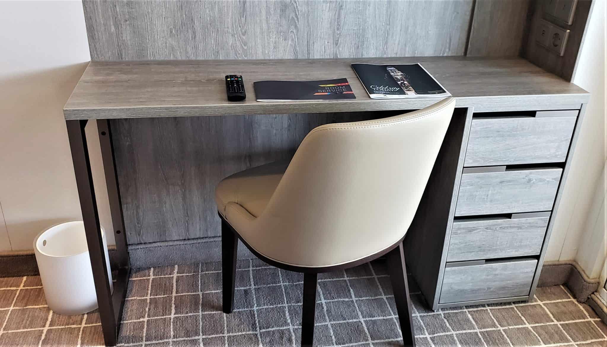 aquaclass stateroom desk chair celebrity millennium