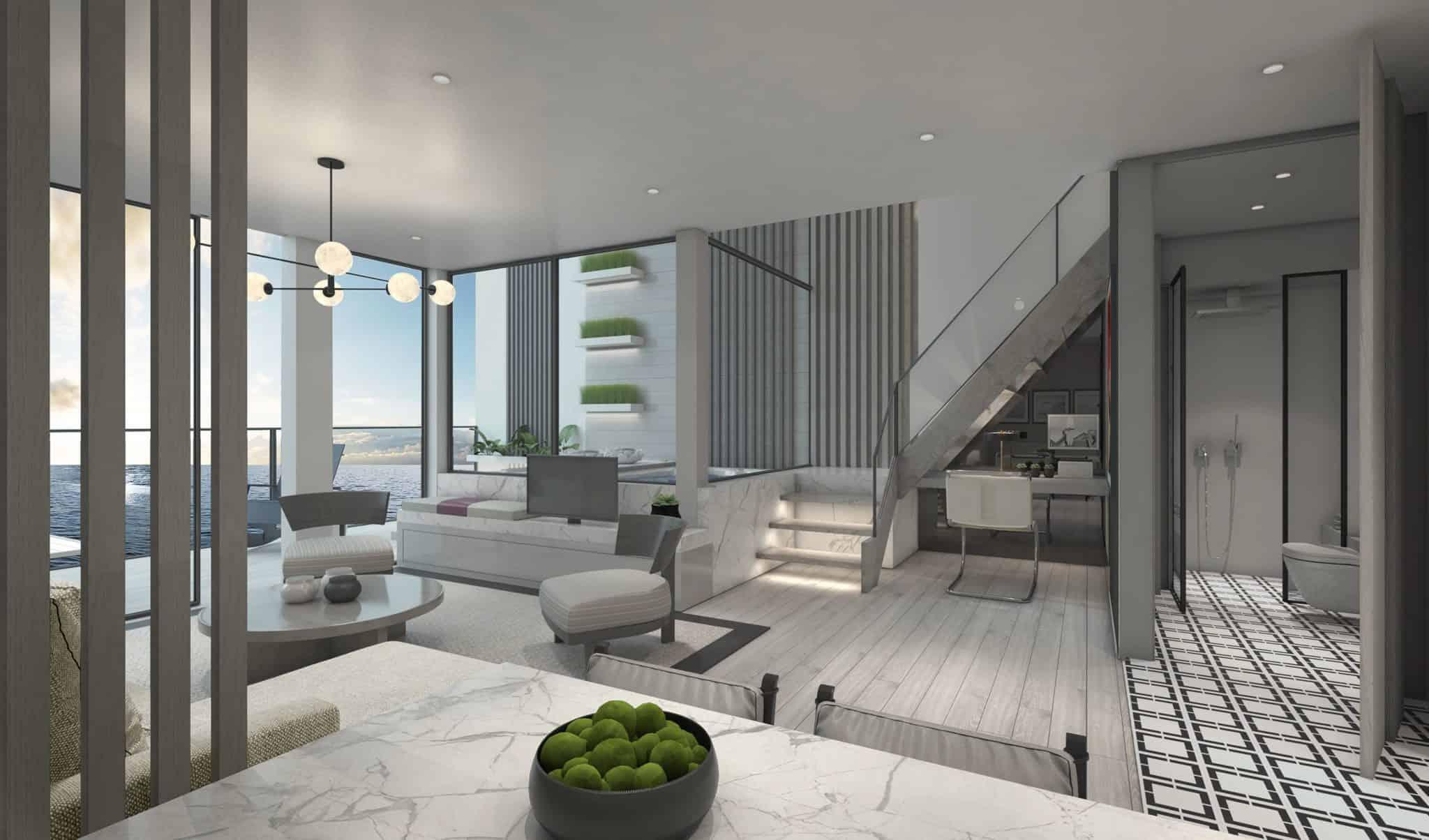 edge villa stateroom suite