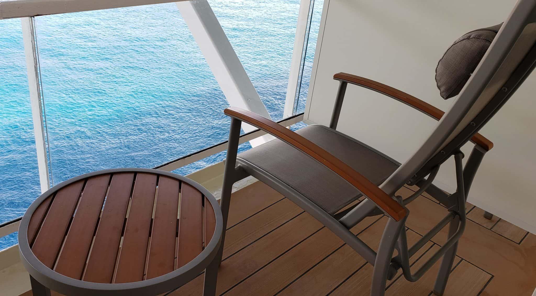 celebrity millennium aquaclass balcony cabin
