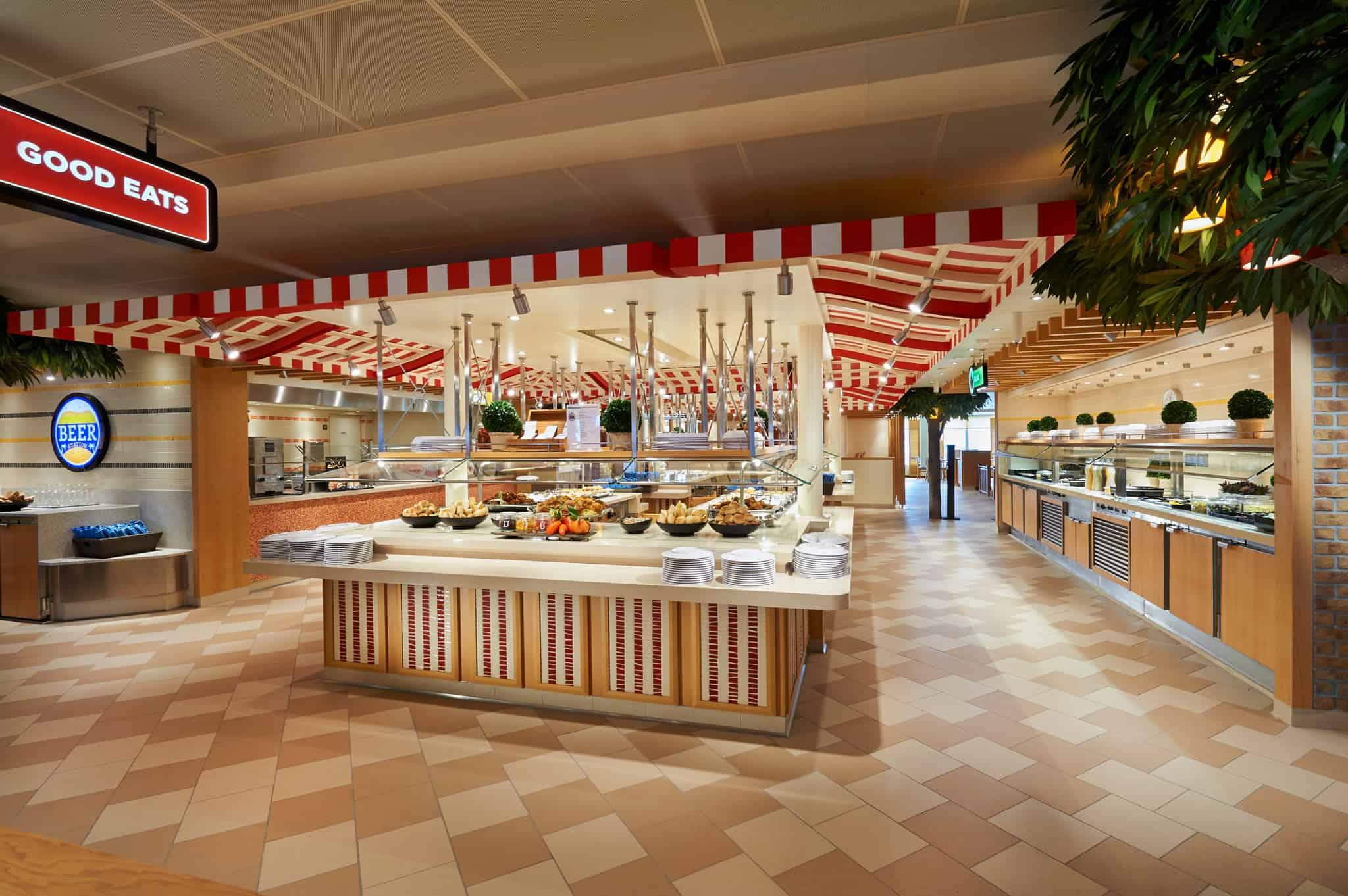 carnival horizon lido marketplace buffet