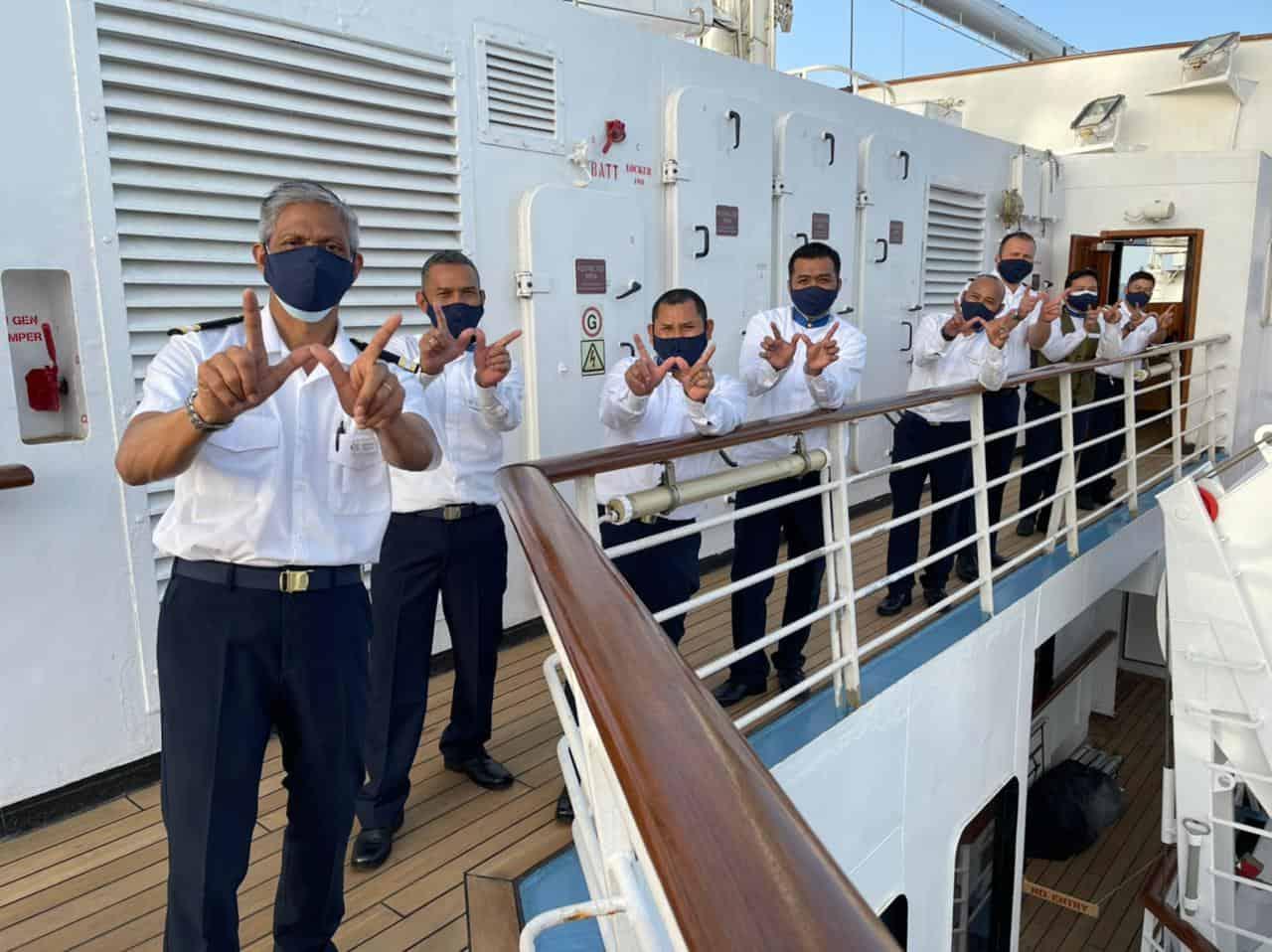 windstar cruises crew members