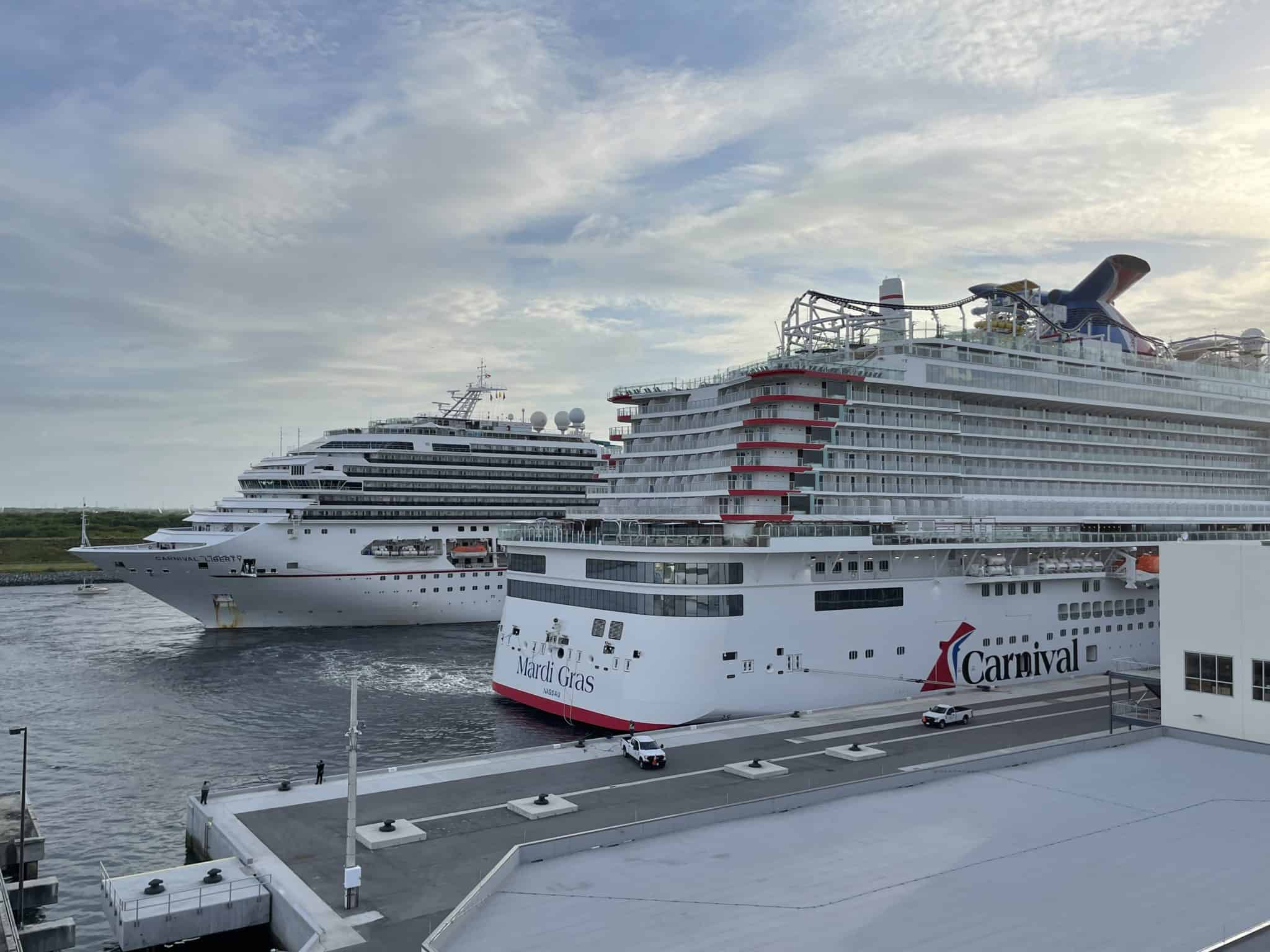 mardi gras carnival cruise line aft port canaveral