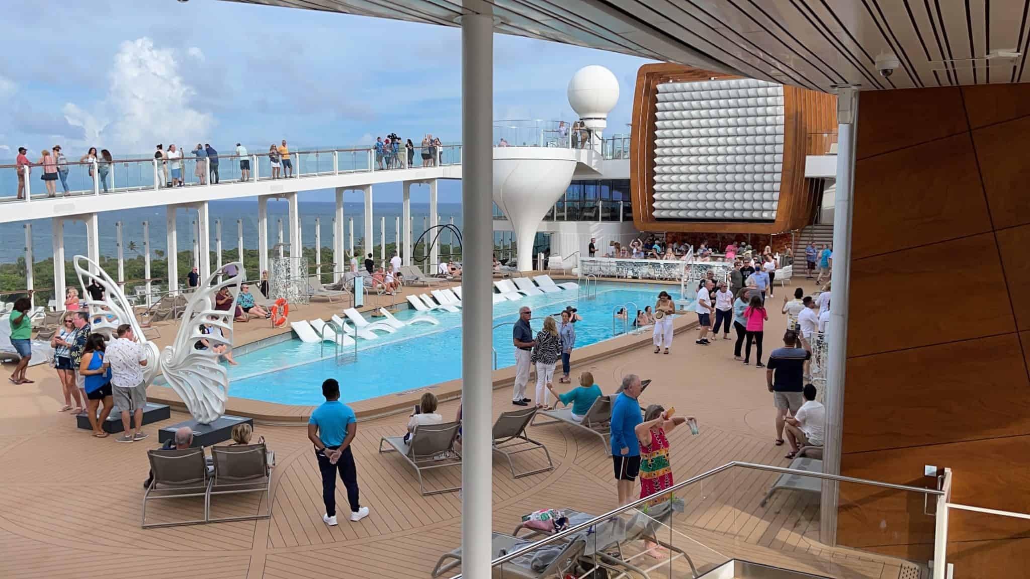 celebrity edge pool deck