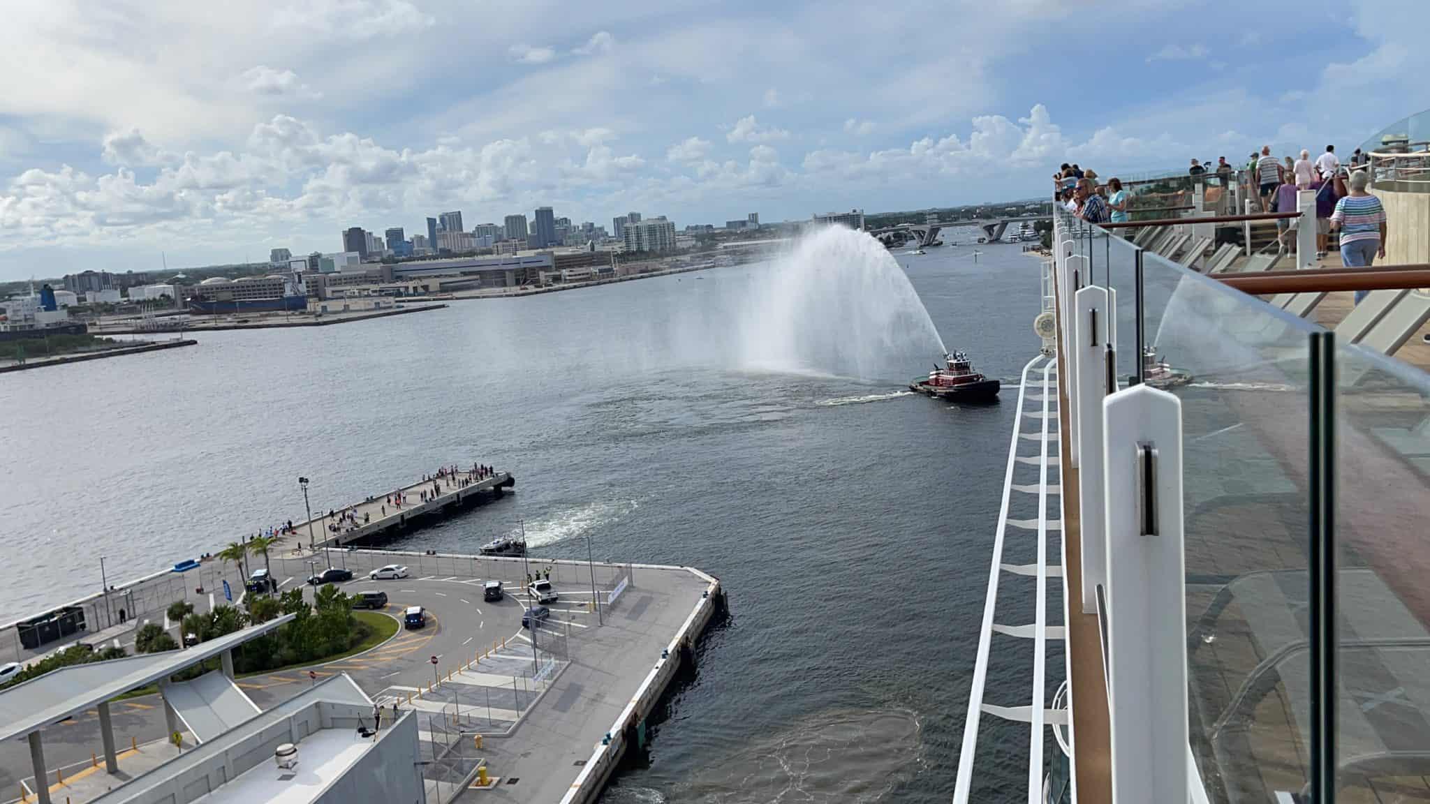 port everglades celebrity edge sail away