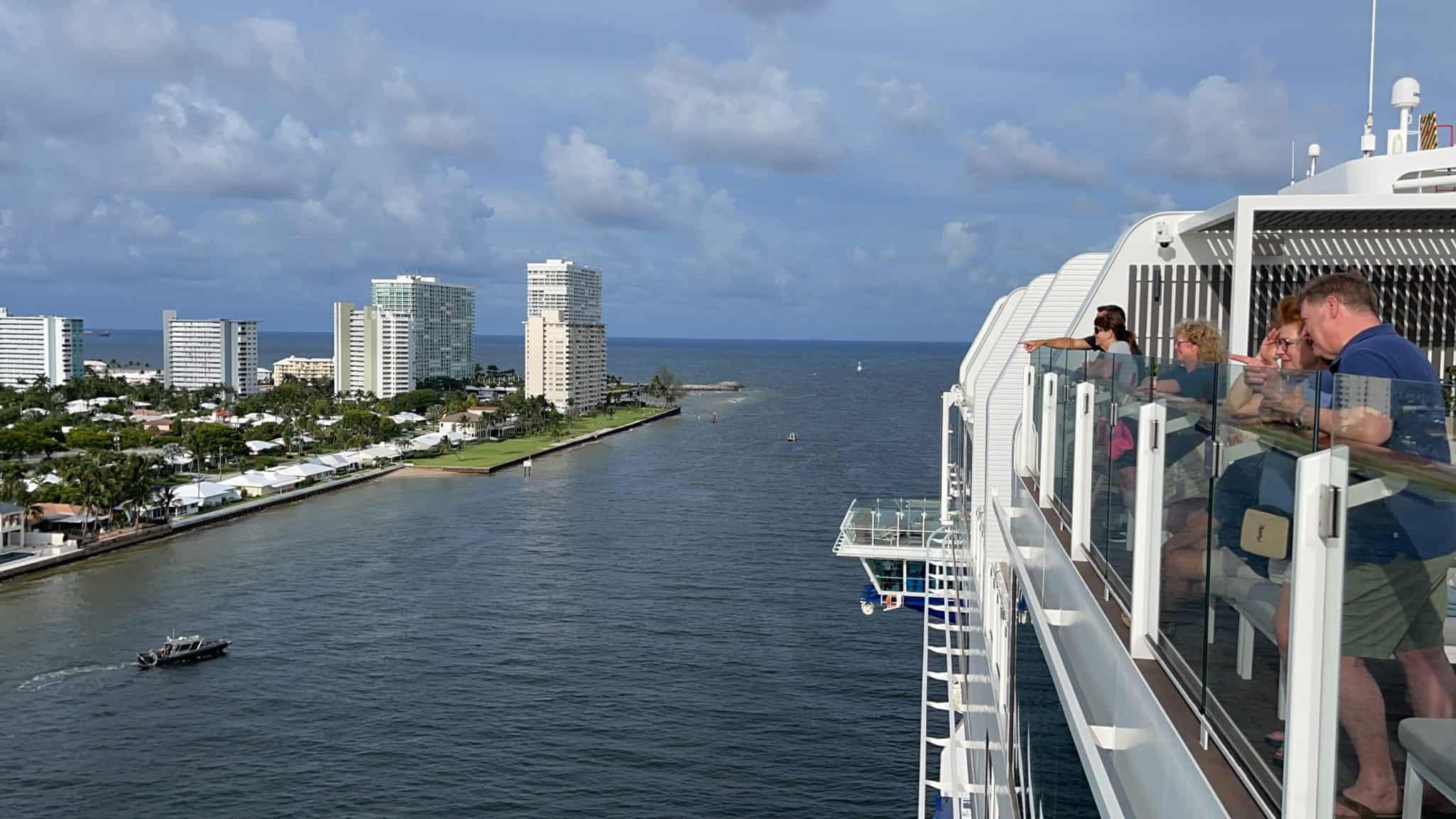 celebrity edge port everglades sail away