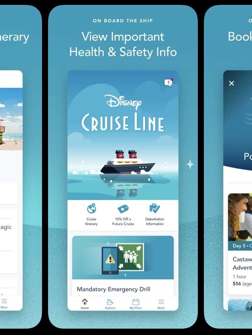 disney cruise line navigator app update