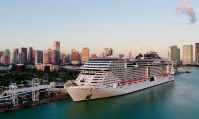 MSC meraviglia in port miami