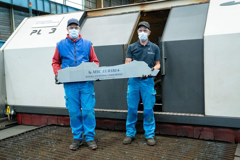 msc euribia steel cutting