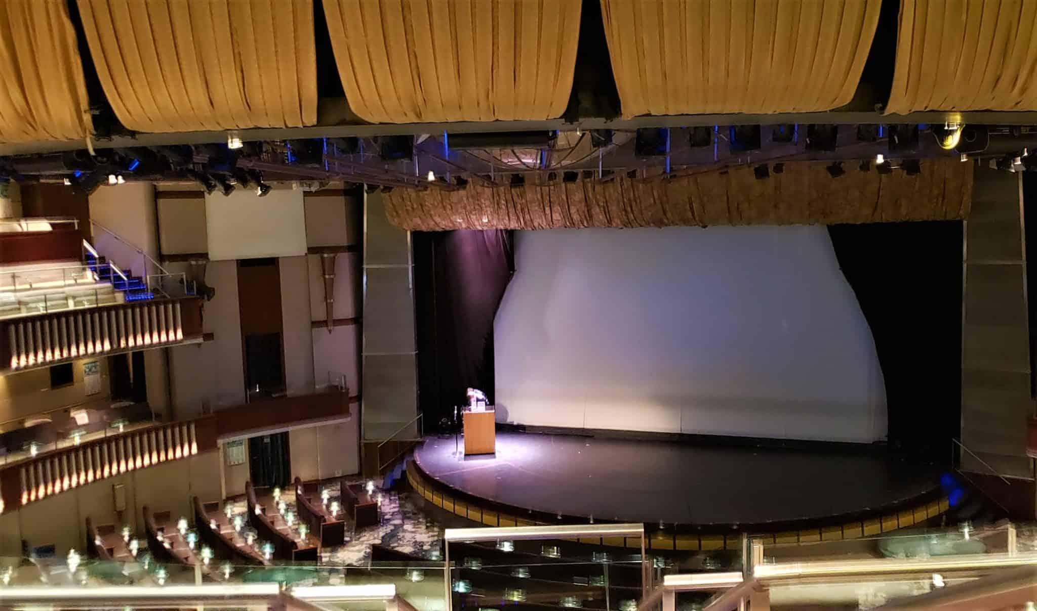 celebrity millennium theater