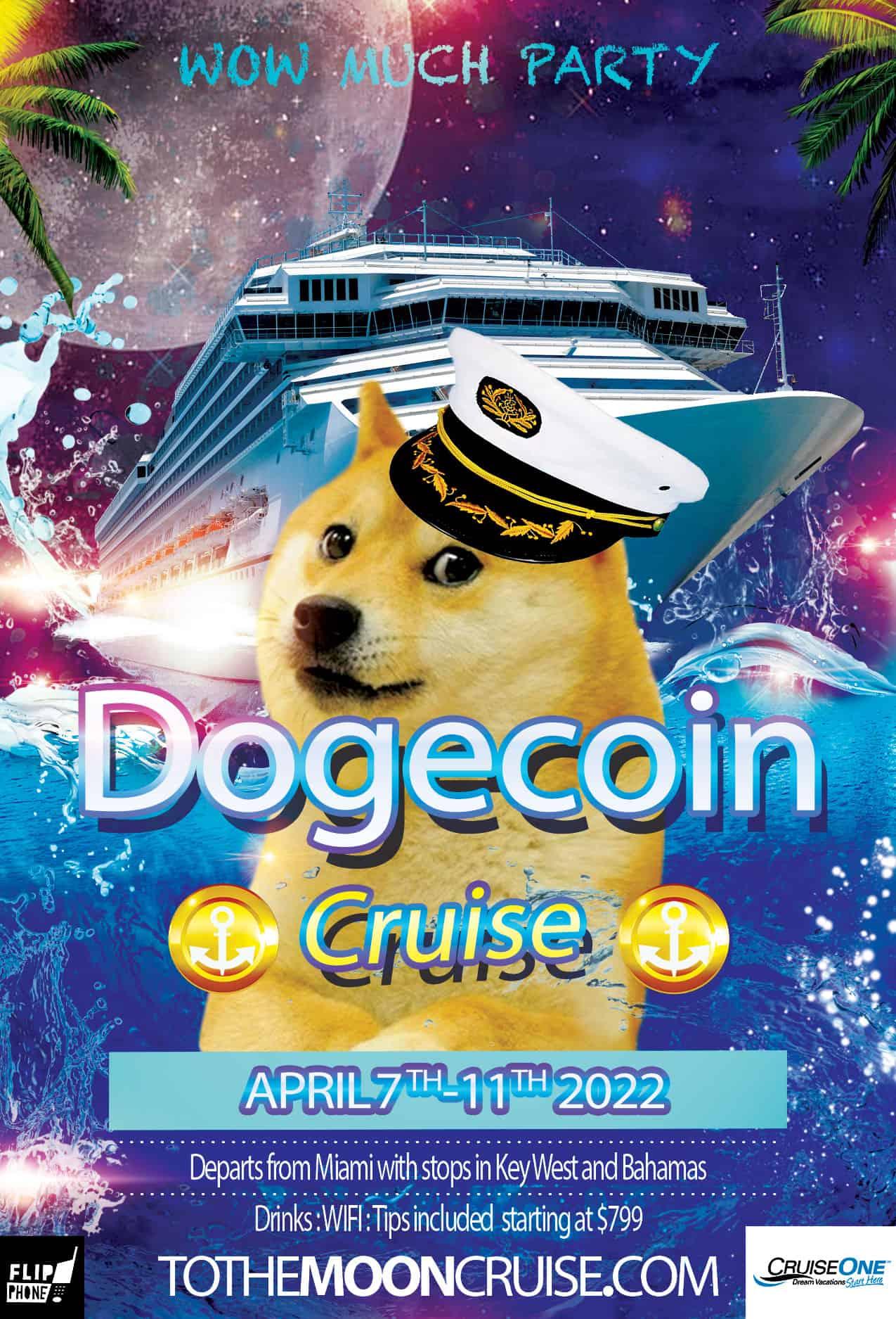 dogecoin cruise celebrity summit