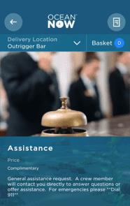 crewcall princess cruises app feature