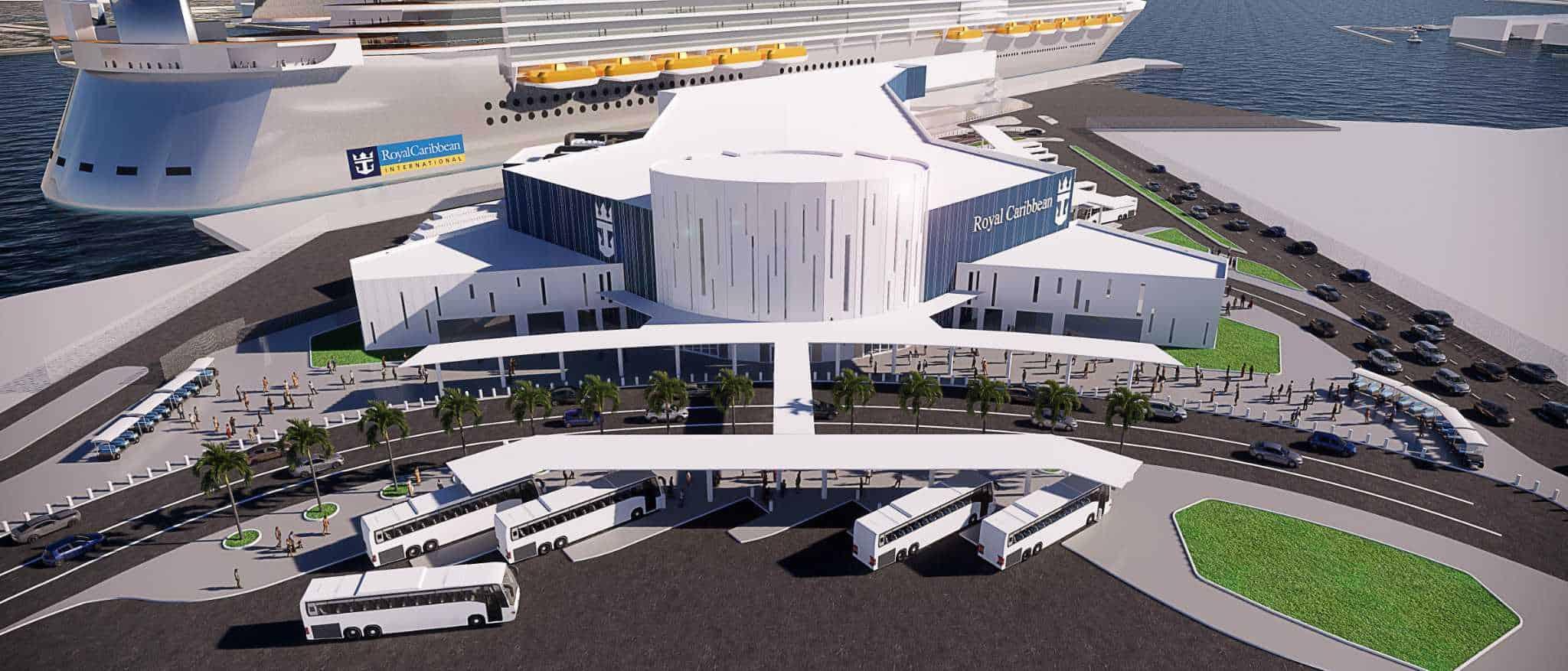 royal caribbean galveston terminal rendering