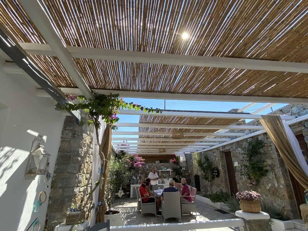 mykonos greece meal