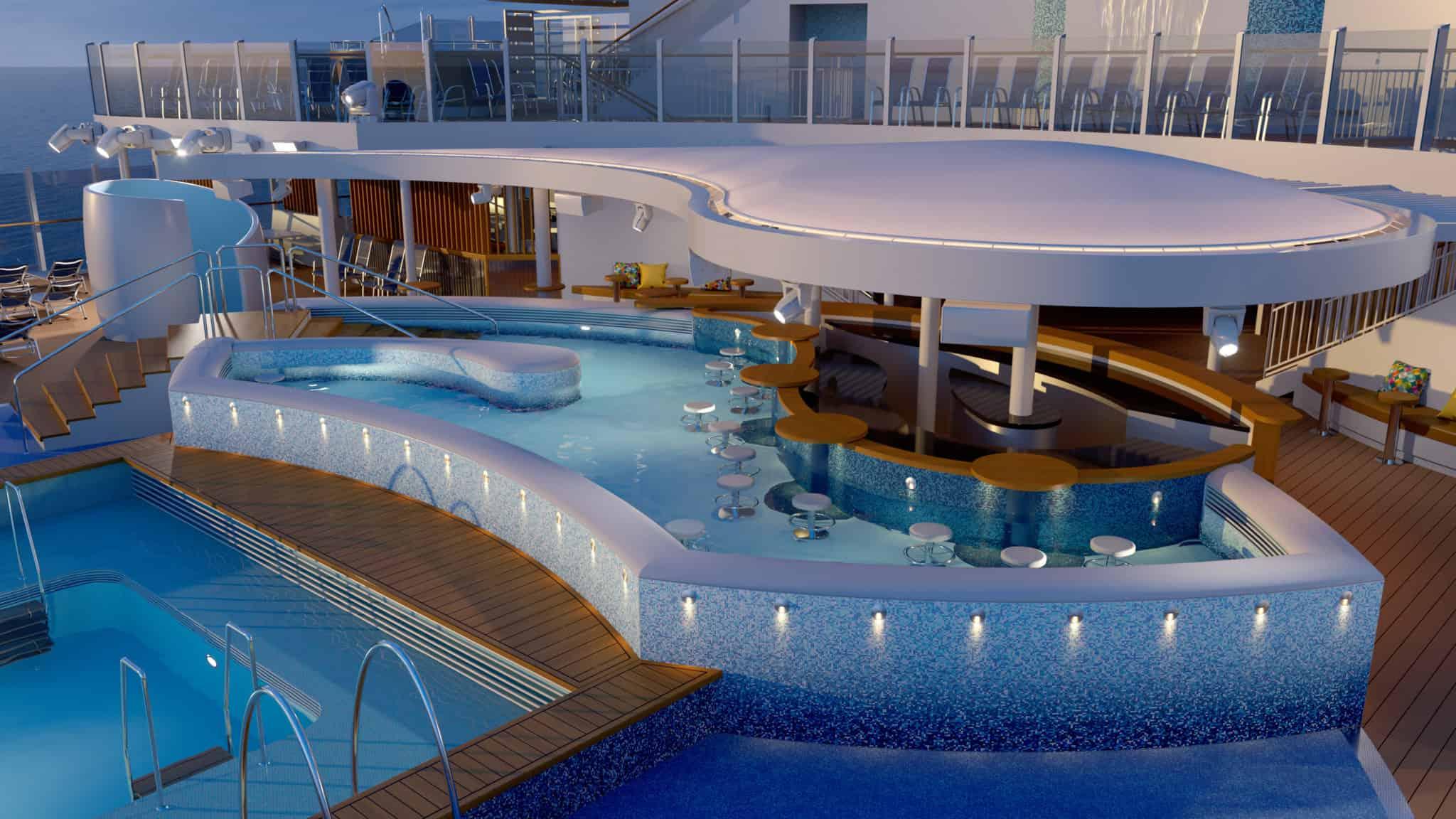 P&O cruises arvia rendering