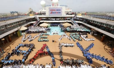 Third Carnival Cruise Ship Returns to Service