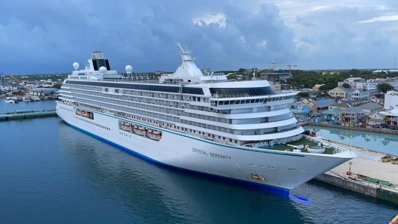 crystal serenity nassau bahamas