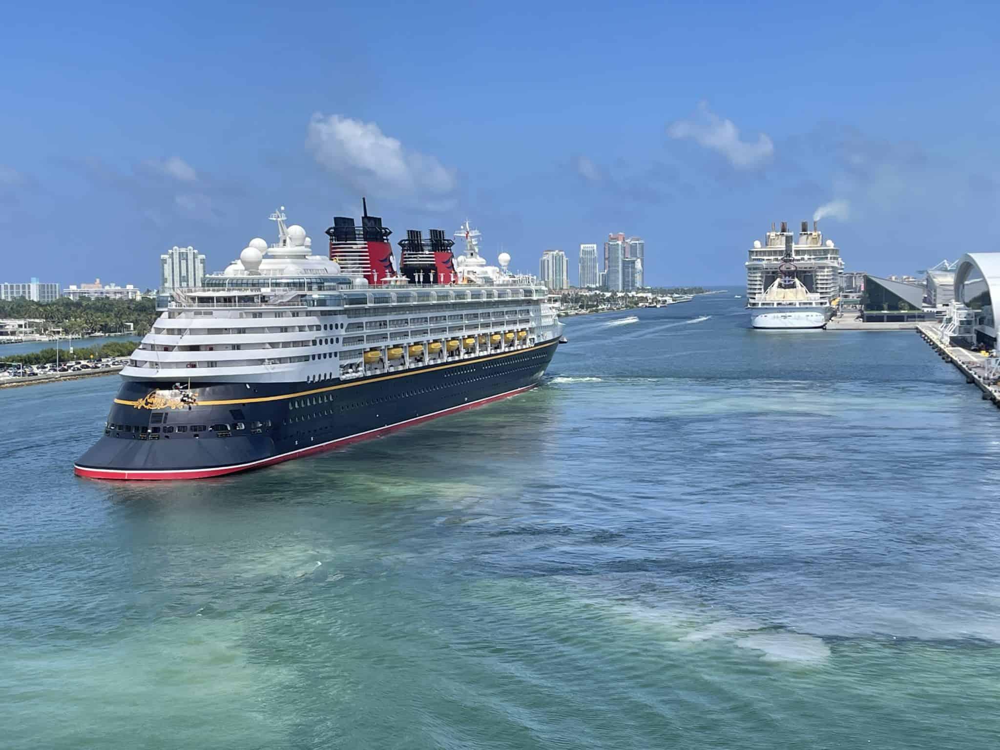 disney wonder multiple ships PortMiami florida