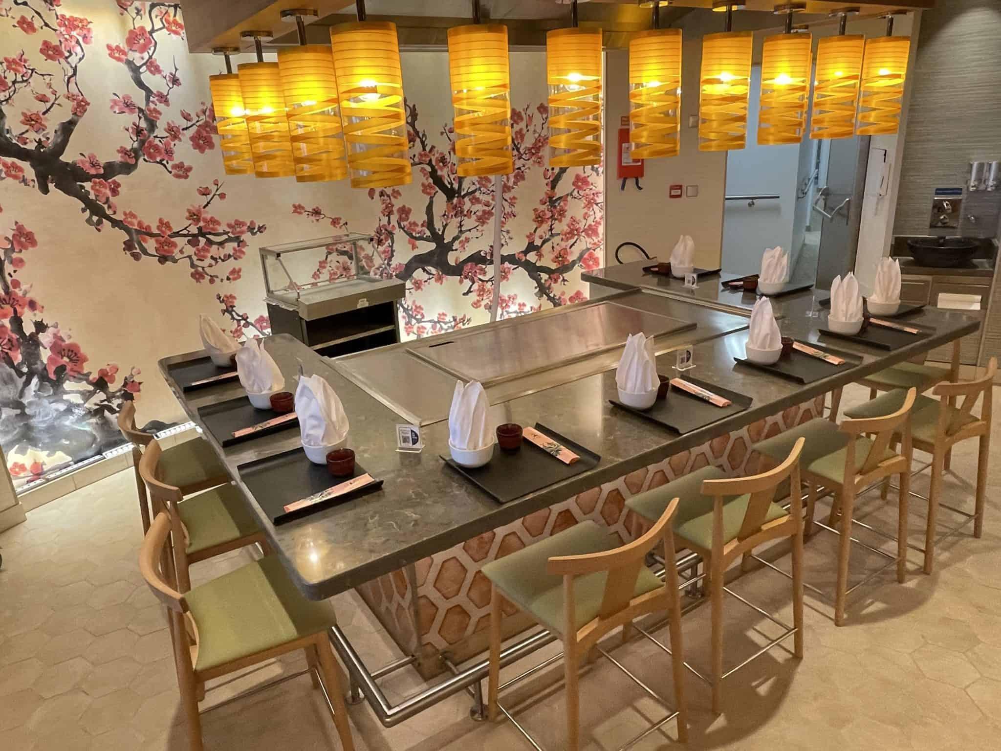 bonsai teppanyaki restaurant mardi gras