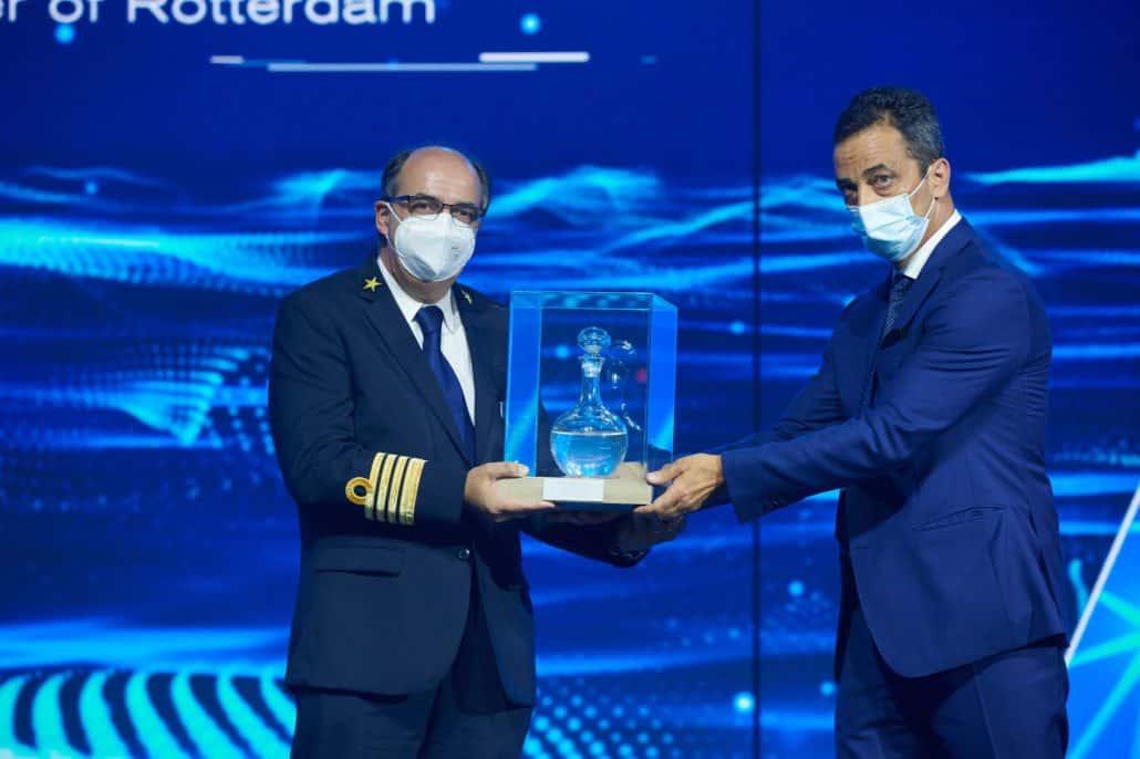 rotterdam holland america handover ceremony