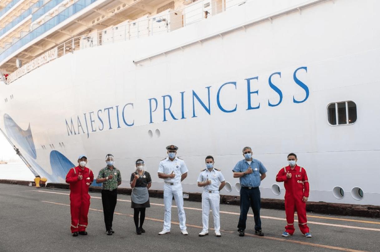 majestic princess officers
