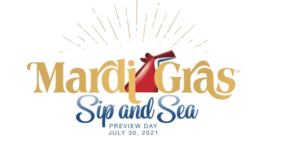 mardi gras sip and sea invite