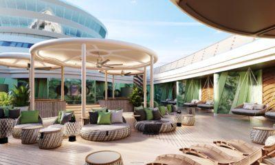 disney cruise line spa outdoor deck