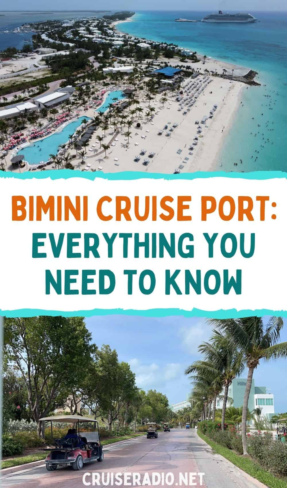 bimini cruise port: what you need to know