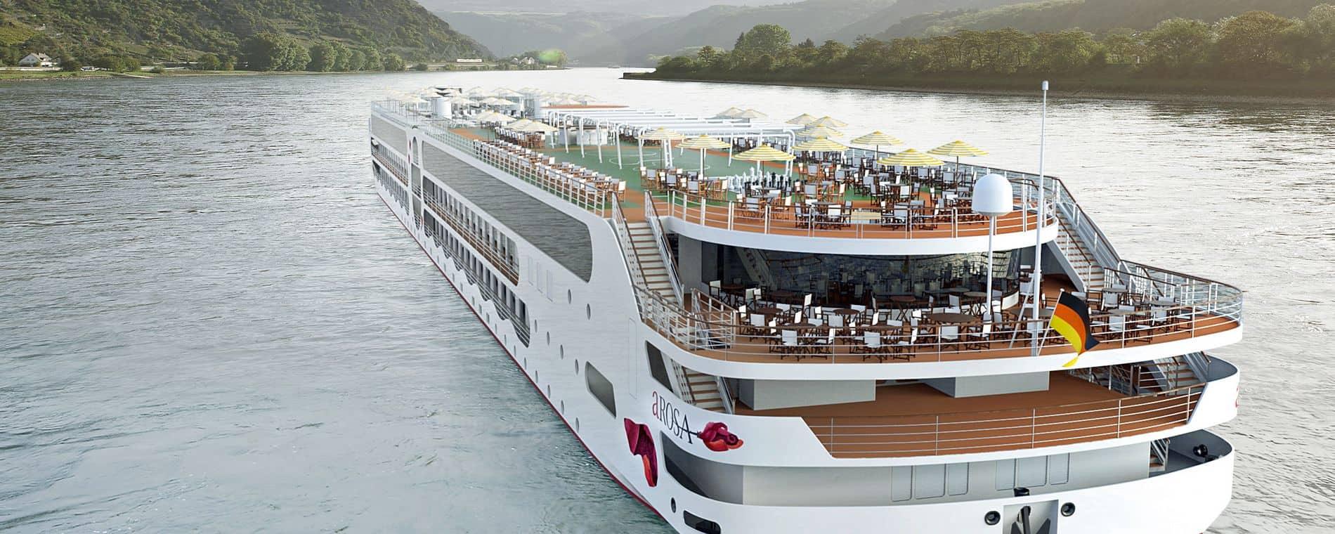 a'rosa e-motion river ship rendering