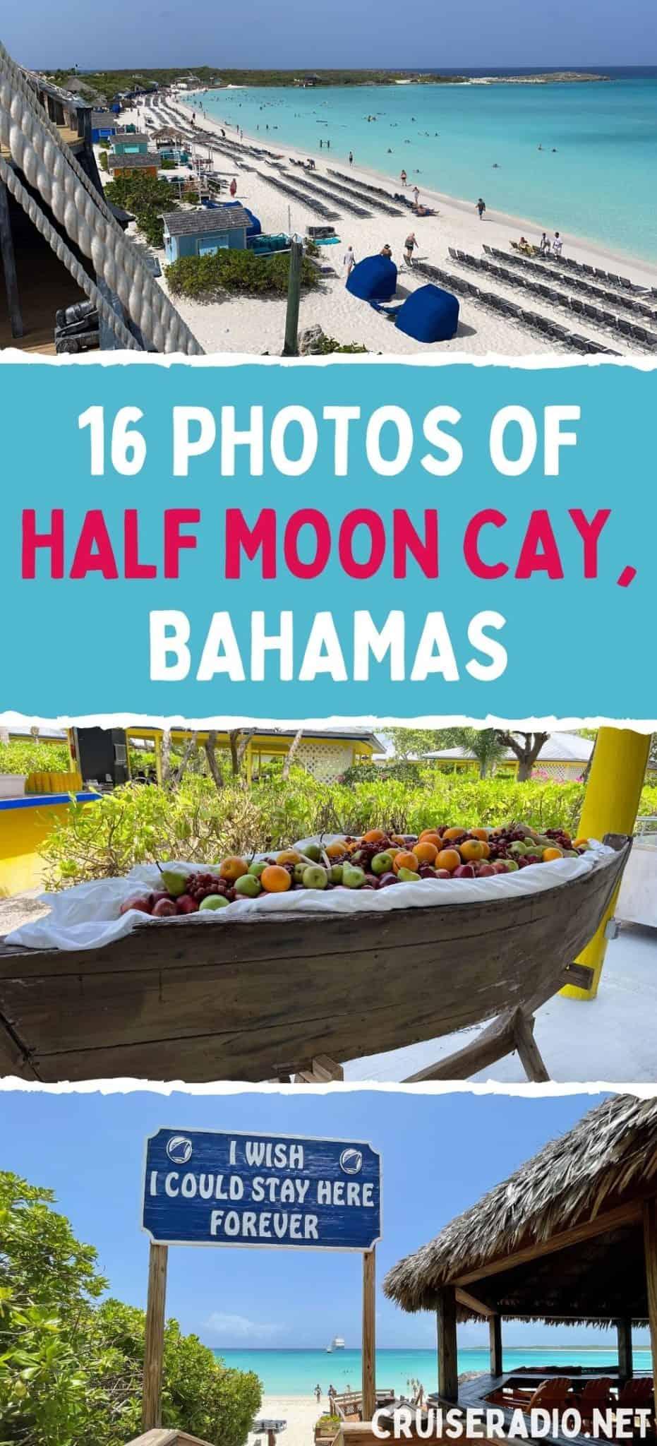 16 photos of Half Moon Cay, Bahamas