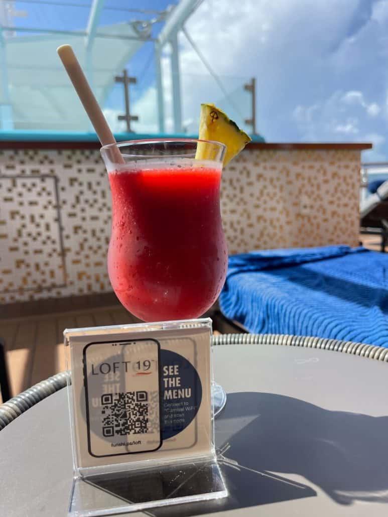 mardi gras trip report Loft 19 cocktail