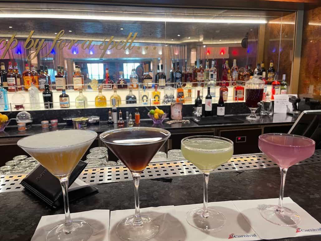 Mardi Gras Maiden Voyage Fortune Teller's Bar
