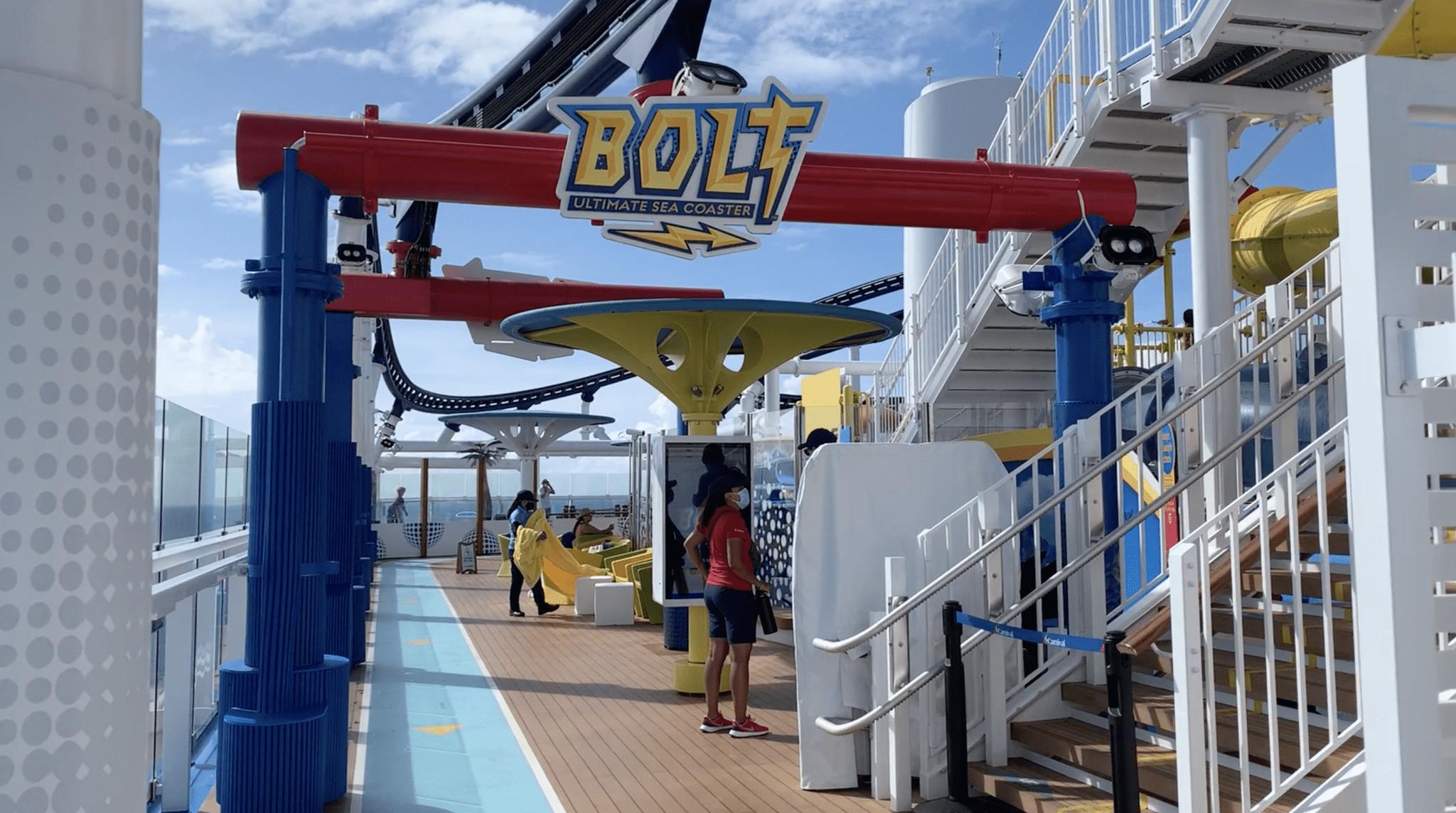 bolt roller coaster closed