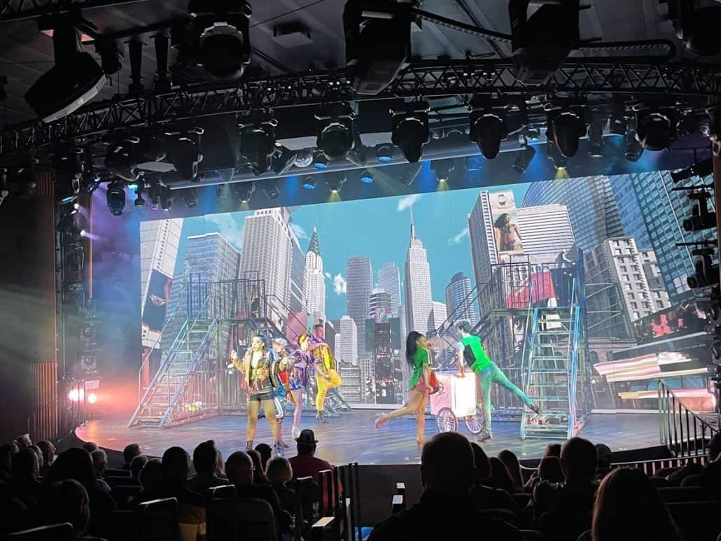 mardi gras trip report theater main show