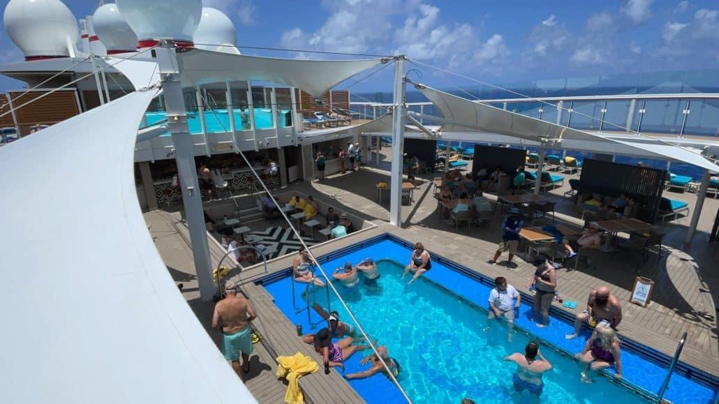 Mardi Gras Maiden Voyage Loft 19 pool